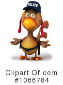 Police Chicken Clipart #1066784 by Julos