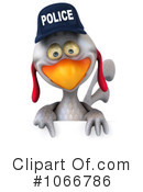Police Chicken Clipart #1066786 by Julos