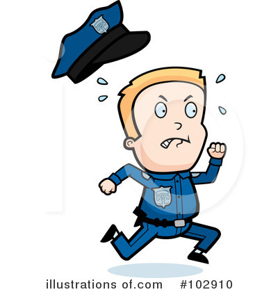 Police Man Clipart #102910 by Cory Thoman