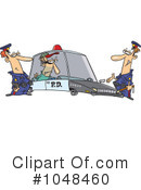 Royalty-Free (RF) police Clipart Illustration #1048460