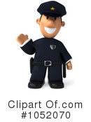 Police Clipart #1052070 by Julos