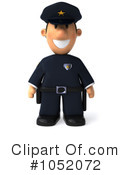 Royalty-Free (RF) Police Clipart Illustration #1052072