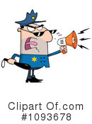 Royalty-Free (RF) Police Clipart Illustration #1093678