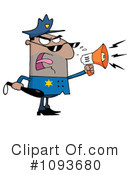 Royalty-Free (RF) Police Clipart Illustration #1093680