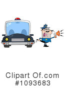 Royalty-Free (RF) Police Clipart Illustration #1093683