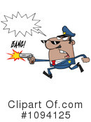 Police Clipart #1094125 by Hit Toon