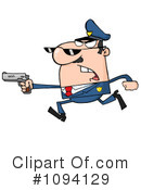 Royalty-Free (RF) Police Clipart Illustration #1094129