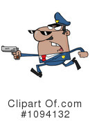 Royalty-Free (RF) Police Clipart Illustration #1094132