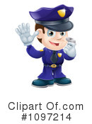Royalty-Free (RF) Police Clipart Illustration #1097214