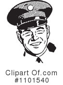 Royalty-Free (RF) Police Clipart Illustration #1101540