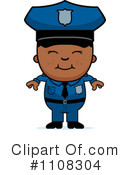 Police Clipart #1108304 by Cory Thoman