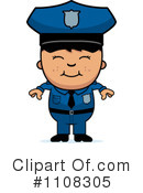 Royalty-Free (RF) Police Clipart Illustration #1108305