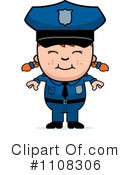 Royalty-Free (RF) Police Clipart Illustration #1108306