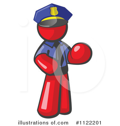Red Design Mascot Clipart #1122201 by Leo Blanchette