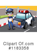 Police Clipart #1183358 by Graphics RF