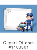 Police Clipart #1183361 by Graphics RF