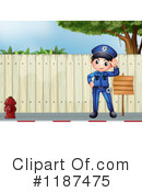 Police Clipart #1187475 by Graphics RF