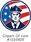 Police Clipart #1220825 by patrimonio