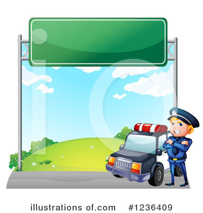 Police Car Clipart #1236409 by Graphics RF