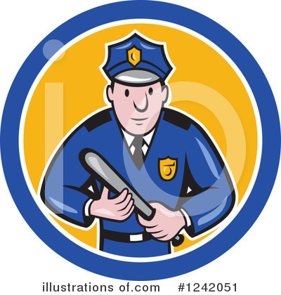 Police Clipart #1242051 by patrimonio