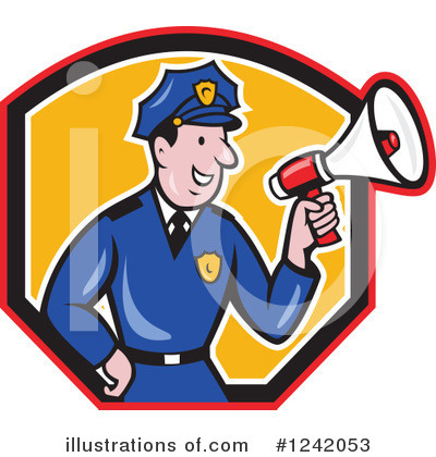 Police Clipart #1242053 by patrimonio