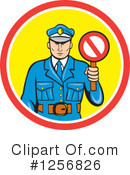 Police Clipart #1256826 by patrimonio