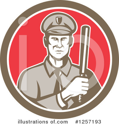 Police Clipart #1257193 by patrimonio