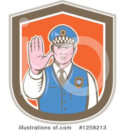 Police Clipart #1258213 by patrimonio