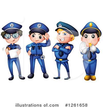 Policeman Clipart #1261658 by Graphics RF
