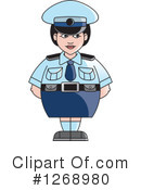 Police Clipart #1268980 by Lal Perera
