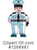 Police Clipart #1268981 by Lal Perera
