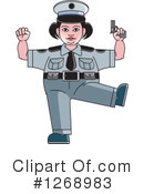 Police Clipart #1268983 by Lal Perera