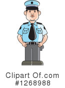 Police Clipart #1268988 by Lal Perera