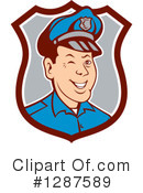 Police Clipart #1287589 by patrimonio