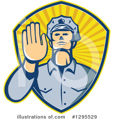 Police Clipart #1295529 by patrimonio