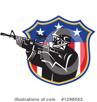 Police Officer Clipart #1298563 by patrimonio