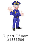 Police Clipart #1333586 by AtStockIllustration