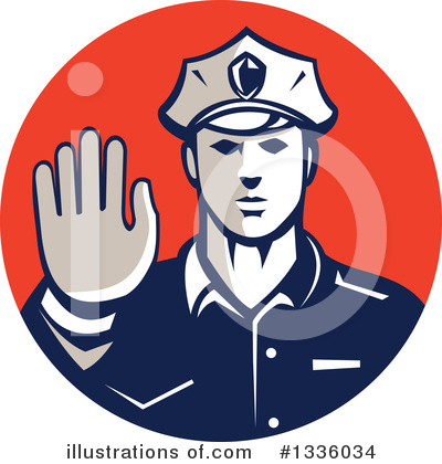 Police Officer Clipart #1336034 by patrimonio