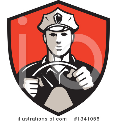 Police Clipart #1341056 by patrimonio