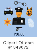 Royalty-Free (RF) Police Clipart Illustration #1349672