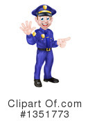 Police Clipart #1351773 by AtStockIllustration