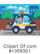 Royalty-Free (RF) Police Clipart Illustration #1356321