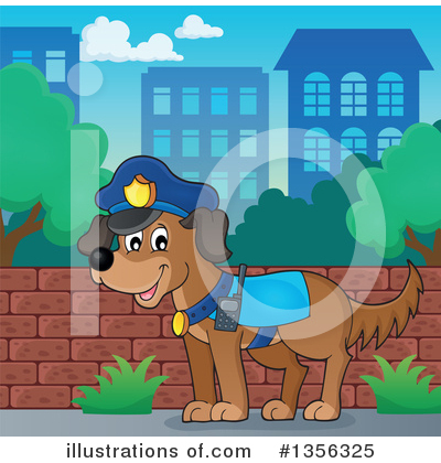 Police Clipart #1356325 by visekart