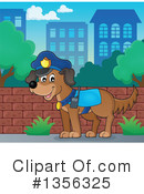 Royalty-Free (RF) Police Clipart Illustration #1356325