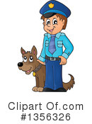 Royalty-Free (RF) Police Clipart Illustration #1356326