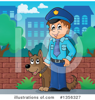 Police Clipart #1356327 by visekart