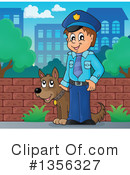 Royalty-Free (RF) Police Clipart Illustration #1356327