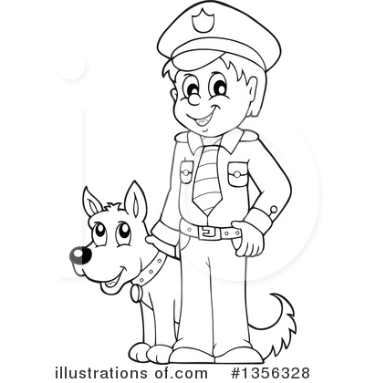 Police Clipart #1356328 by visekart
