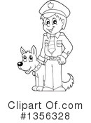 Royalty-Free (RF) Police Clipart Illustration #1356328
