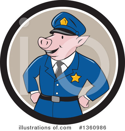 Police Clipart #1360986 by patrimonio
